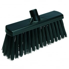 29159 300mm Stiff Black Yard Broom (each)