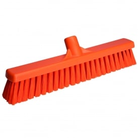 31797 400mm Soft Floor Broom Orange (each)