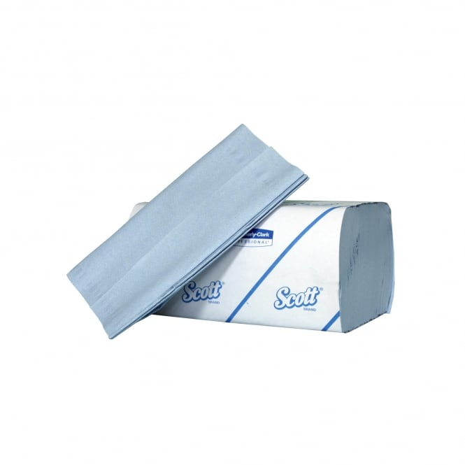 6660 Scott 1 ply blue Hand Towels (pk 2700)