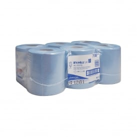 7494 Wypall L10 blue centrefeed rolls 1 ply 630 sheets (pk 6) (7198)
