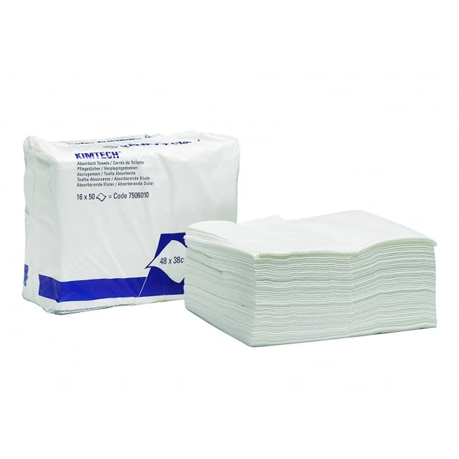 7506 Kimtech absorbent towels (pk 16x50)