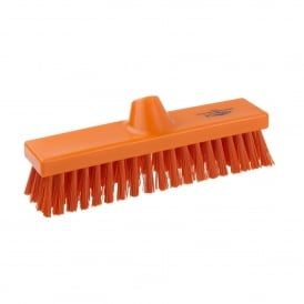 B1745 Orange 280mm Stiff Deck Brush