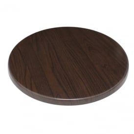 Bolero Round Table Top (Dark Brown)