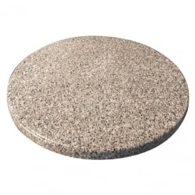 Bolero Round Table Top (Granite Effect)