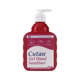 CAG400P Deb Cutan gel sanitiser pump bottle (12x400ml)