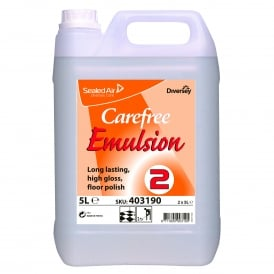 Carefree emulsion floor polish (5lt)