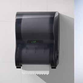 CL500 Clea No Touch Hand Towel Dispenser - Smoked Grey (each)