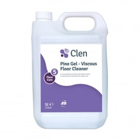 Clen Pine Gel - Viscous floor cleaner (5 lt)