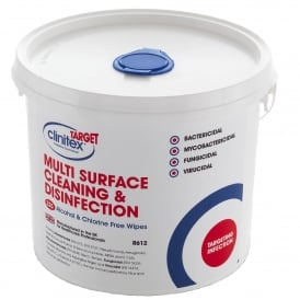 Target Multi Surface Disinfection Wipes (tub 225)