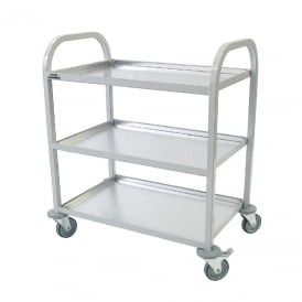 Craven Enamelled Clearing Trolley