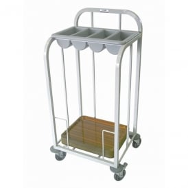 Craven Single Tier Cutlery & Tray Dispense Trolley (Direct)