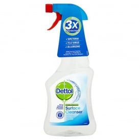Dettol Surface Cleaner Trigger Anti Allergy (6x500ml)
