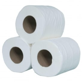 Euro 200 2 ply 200 sheets toilet rolls (pk 36)