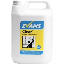 Clear Window Glass & Stainless Steel Cleaner