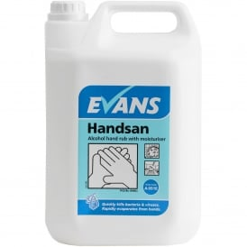 Handsan Alcohol Hand sanitiser with moisturiser