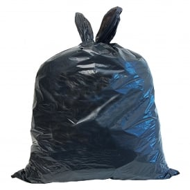 HEAVY DUTY Black Wheelie Bin Liners (pk 100)