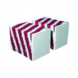 Just One napkins 2ply white (pk 8000)