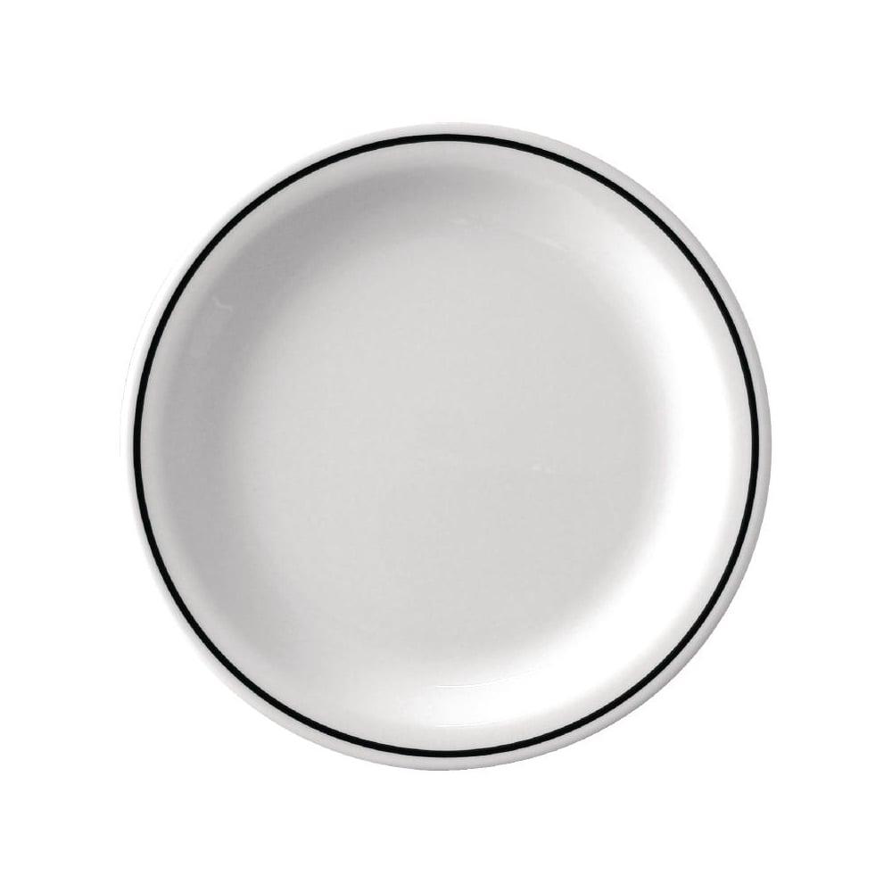 Kristallon Black Band Melamine Band Plate  sc 1 st  Nexon Hospitality & Kristallon Black Band Melamine Plates 230mm - 230mm (9