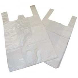 L/D 18mu vest style carrier Bags Warrior (pk 1000)