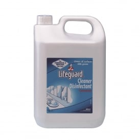 Lifeguard cleaner/disinfectant