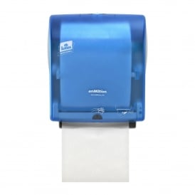 Lotus Translucent Blue Enmotion Roll Towel dispenser (each)