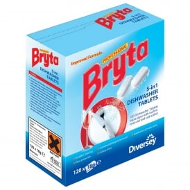 New 5in1 Bryta dishwash tablets (pk 120)