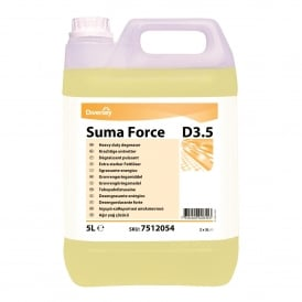 Suma Force D3.5 heavy duty detergent (pk 5lt)