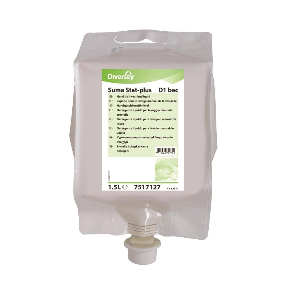 Suma Stat Plus D1 Bac Washing Up Liquid Nexon Hygiene