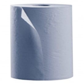 GL548 1000 sheet 2 ply blue wiper rolls (pk 2)