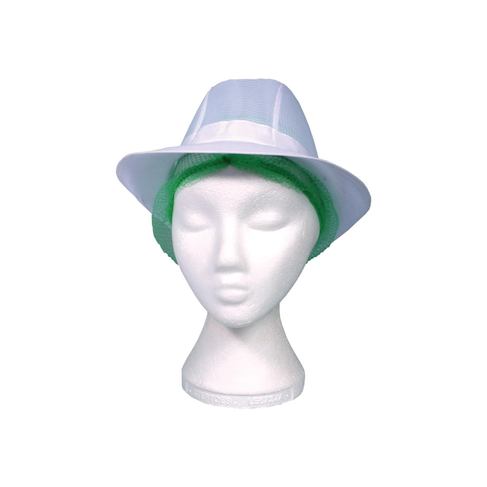 White Trilby Hat  da051ea3b47