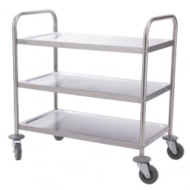 Vogue 3 Tier Clearing Trolley